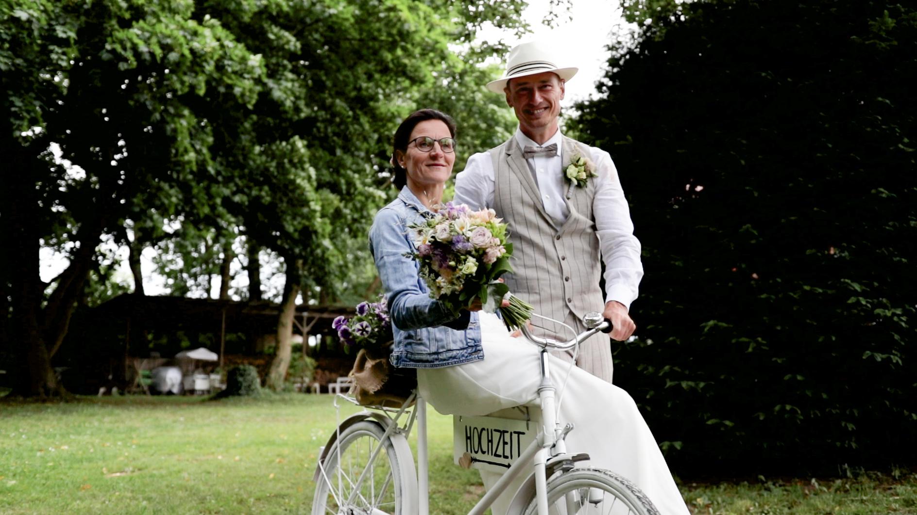 Traumhaft ländliche Hochzeit